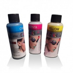 TINTA para CISS   CANON  - KIT COLOR - 3x60 ml