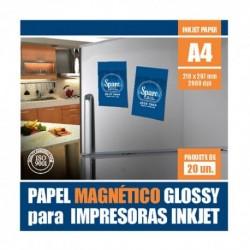 PAPEL A4 IMANTADO  - 690 grs - 5 HOJAS