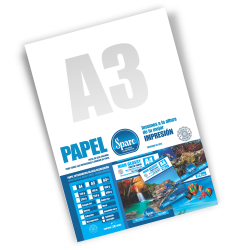 PAPEL FOTO A3 - 180 g - DOUBLE SIDE GLOSSY PREMIUM - 20 HOJAS