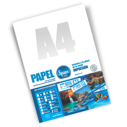 PAPEL BLING ART - PLATEADO c/ efecto HAZ de LUZ - A4 - 260 grs - 10 HOJAS